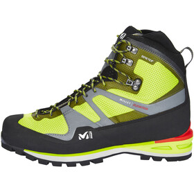 Millet Elevation GTX High Shoes Men acid green